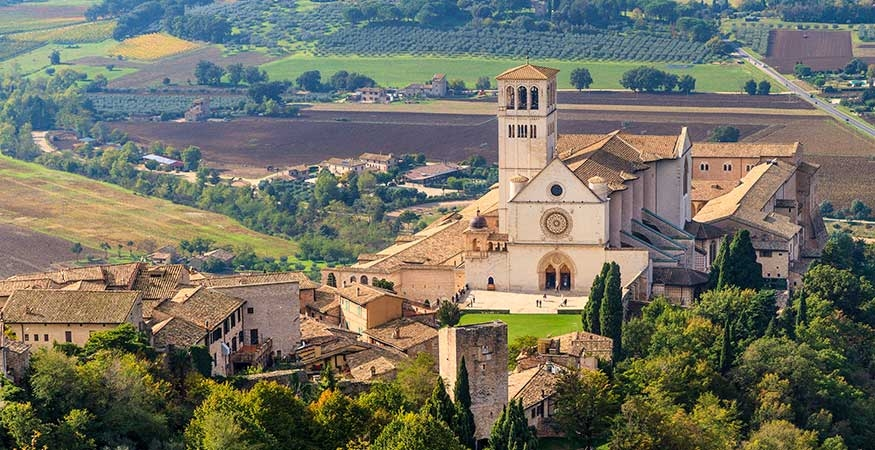 Monastery in Assisi, Italy