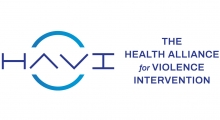 HAVI logo; caption: The Health Alliance for Violence Intervention